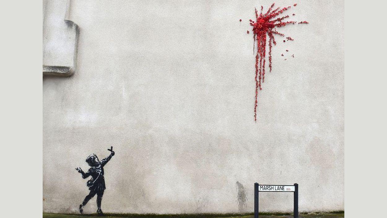 Afbeelding van Feelgood Friday: een mooi Valentijnscadeau van Banksy