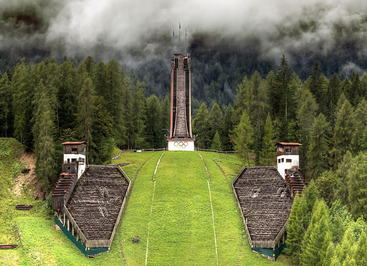 #7 Ski Jump Tower, Cortina D'ampezzo, Italy, 1956 Winter Olympics Venue - credit Fabio Gregoroni