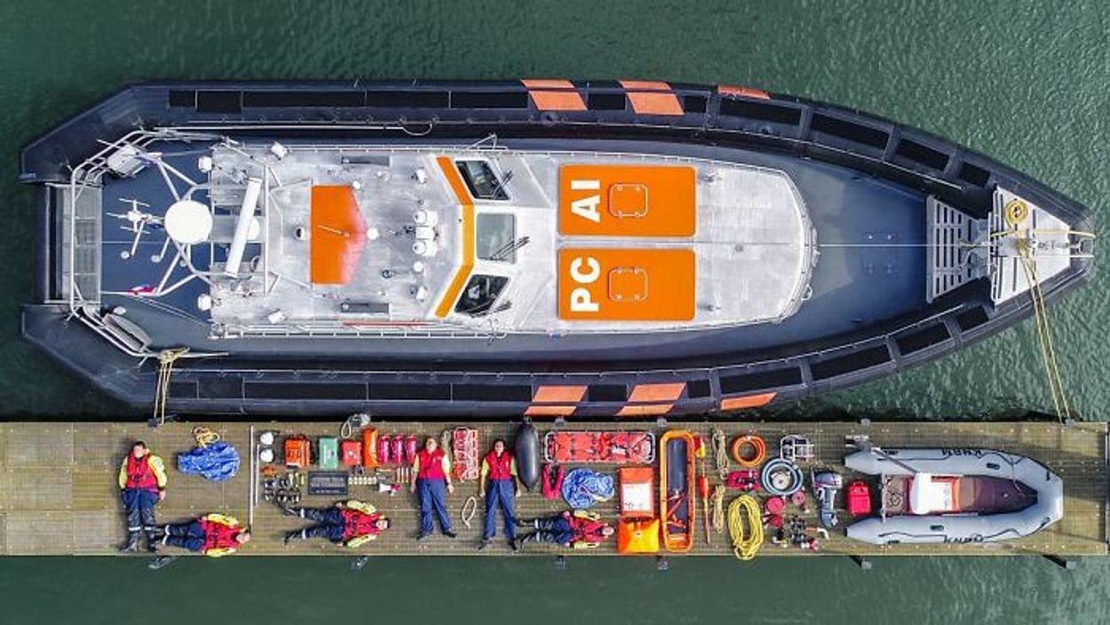 KNRM Station Hoek Van Holland Lifeboat