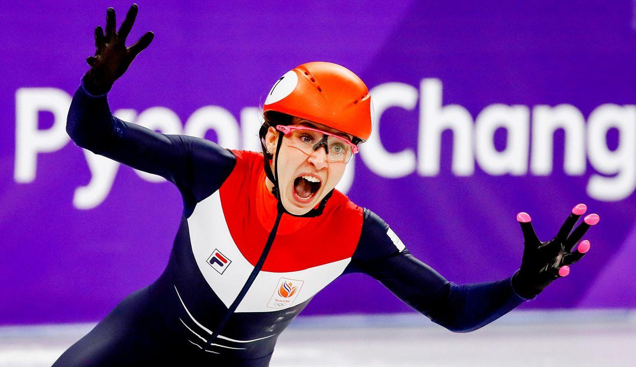Afbeelding van Gouden olympiërs in DWDD
