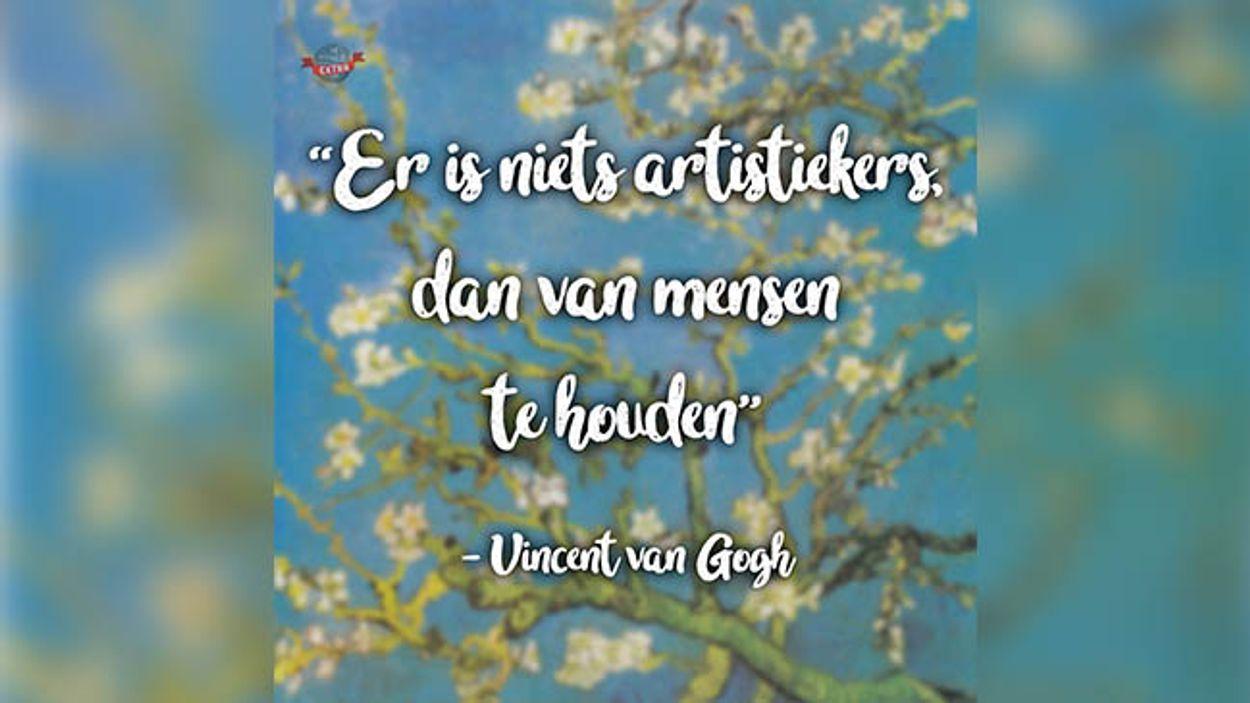Afbeelding van Tegeltjeswijsheden van: Vincent van Gogh