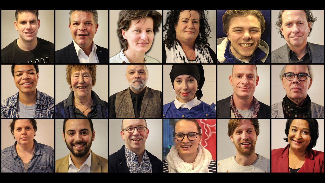 2018 gemeenteraads debaters verzameld lagerhuis dwdd