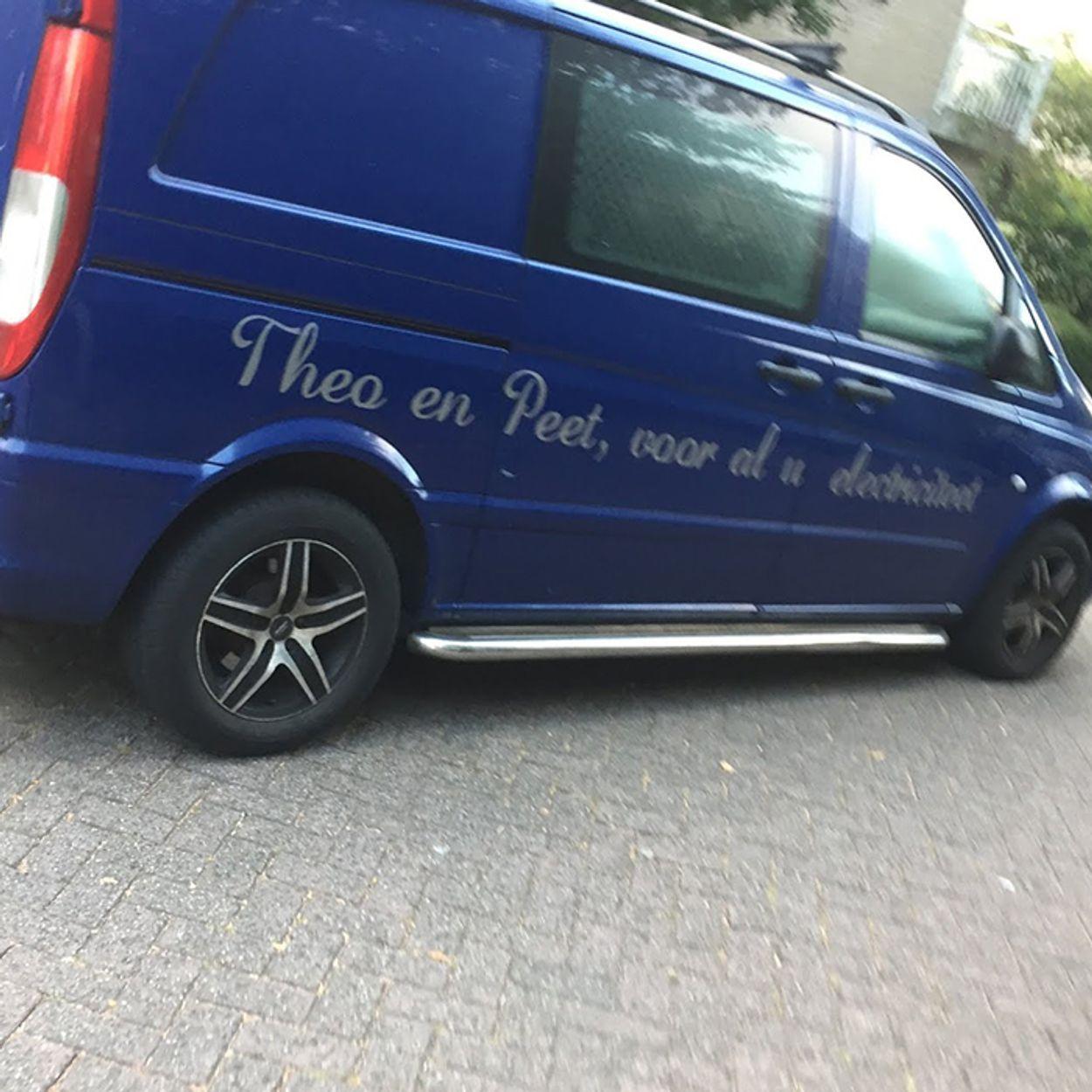 Theo en Peet, voor al u electriciteet - PC van der Peet