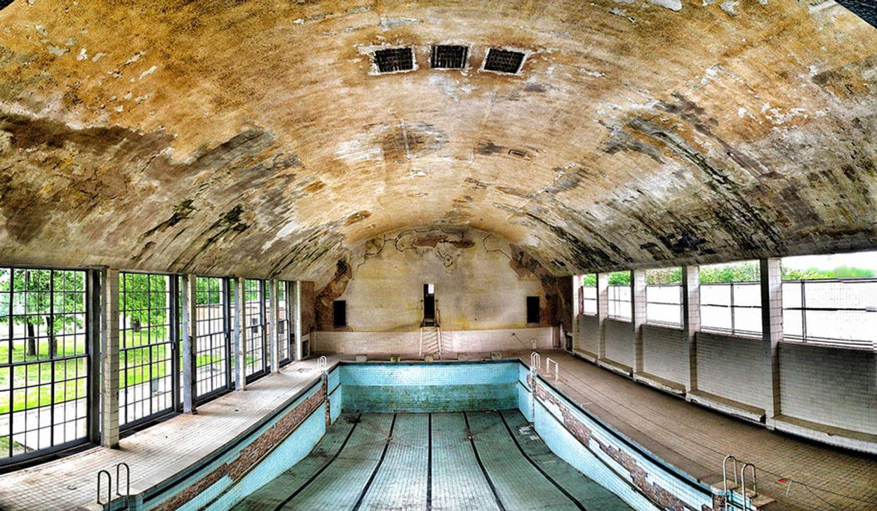 olympisch verval zwembad berlijn 1936