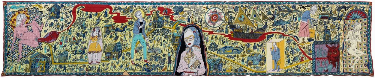 Grayson Perry The Walthamstow Tapestry 2009 Courtesy Bonnefantenmuseum Maastricht