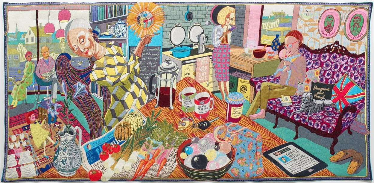 Grayson Perry The Annunciation of the Virgin Deal 2012 FULL Courtesy N. Sargent Foundation