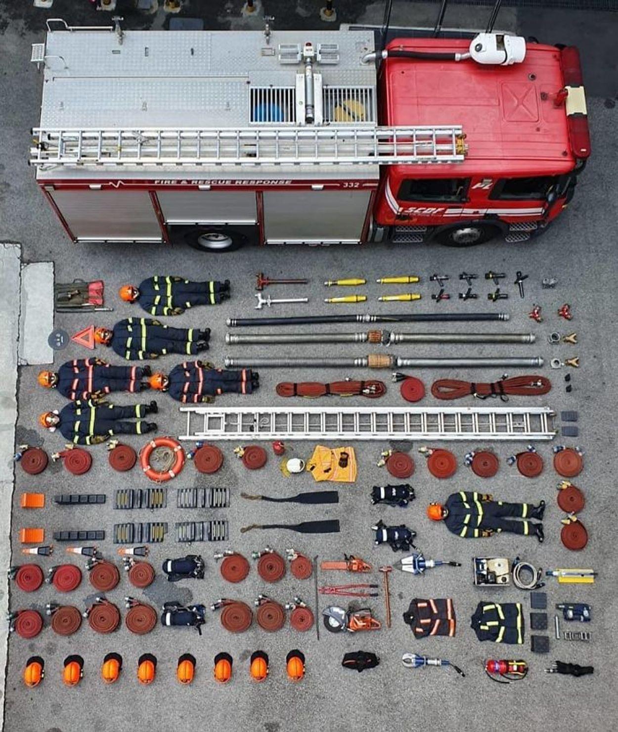 Singapore brandweer