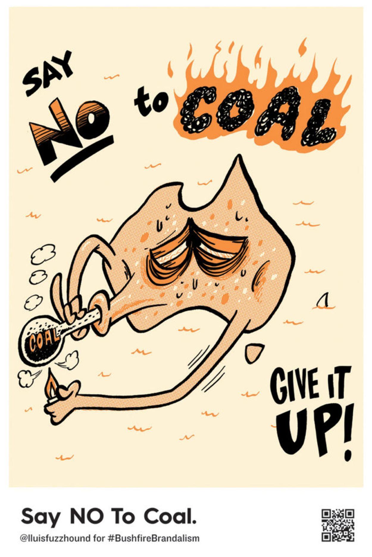 12_a Fuzzhound-See.-Hear.-Speak-say-no-to-coal--683x1024