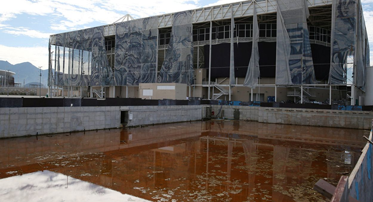 Six Months on, Rio Olympic Sites Falling Into a State of Decay - credit Reuters Pilar Olivares