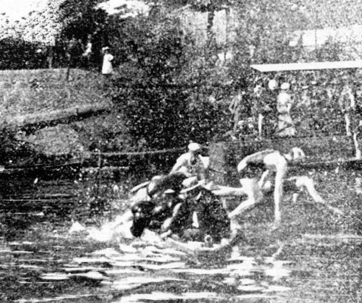 zwemmen-met-hindernis
