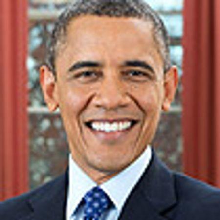 Afbeelding van Obama in Amsterdam