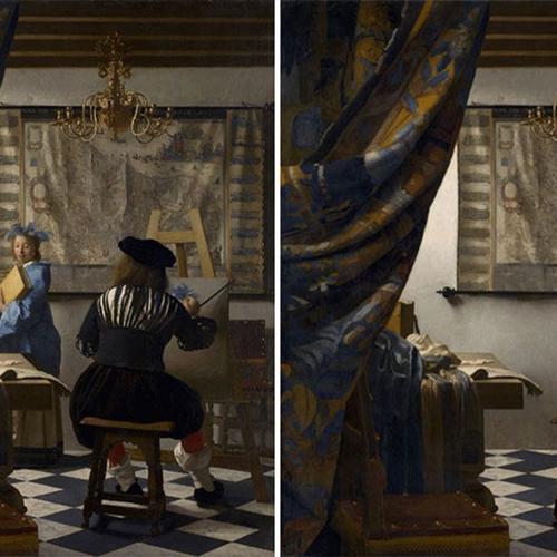 Afbeelding van Quarantainekunst: bekende schilderijen zonder mensen