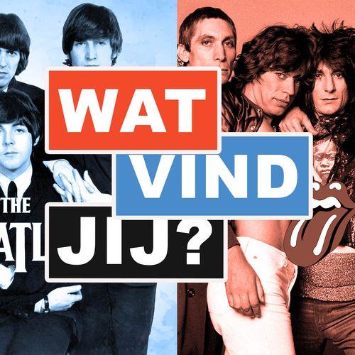 Afbeelding van Wat vind jij: Beatles vs Stones
