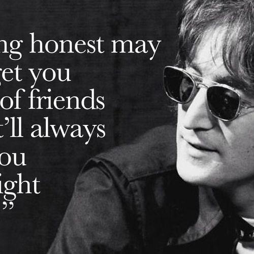 Afbeelding van John Lennon in quotes