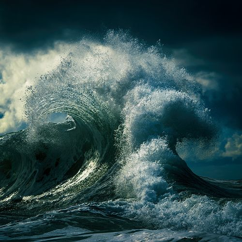 Afbeelding van Web Draait Door: de magie van golven